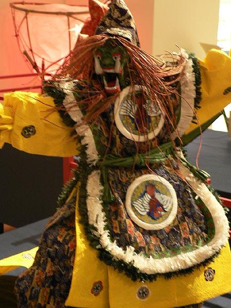 和紙人形作品展「舞楽」