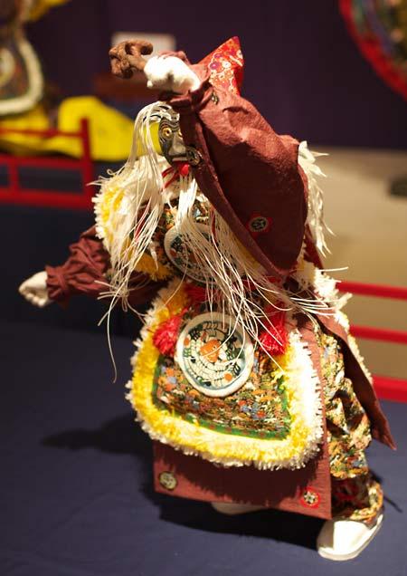 204和紙人形作品展「舞楽」