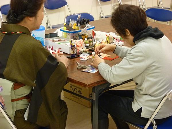 折り紙教室「七福神 毘沙門天」