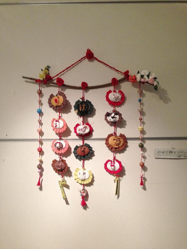 工房島勇 生徒作品展「つるし飾り」