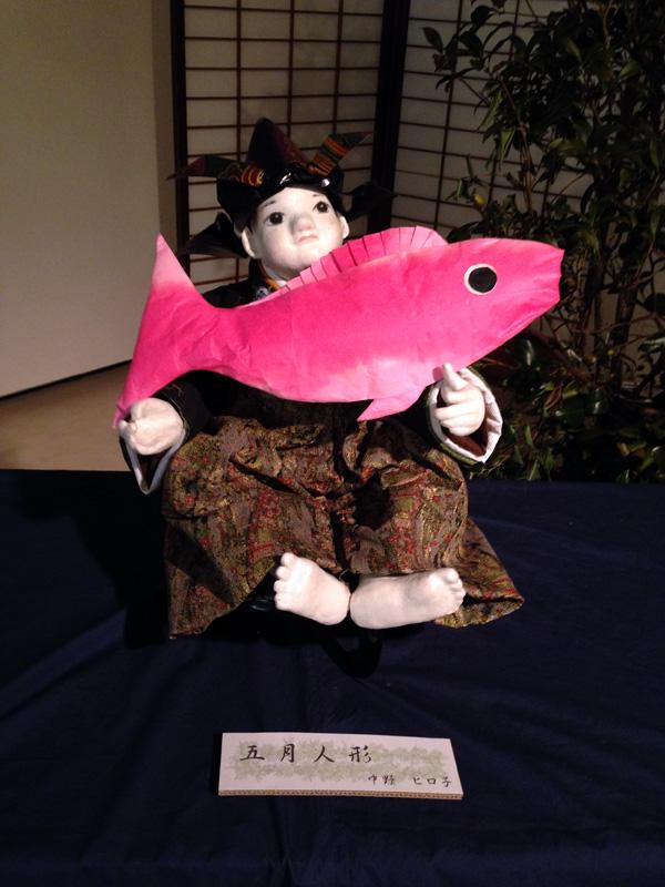 工房島勇 生徒作品展「五月人形」