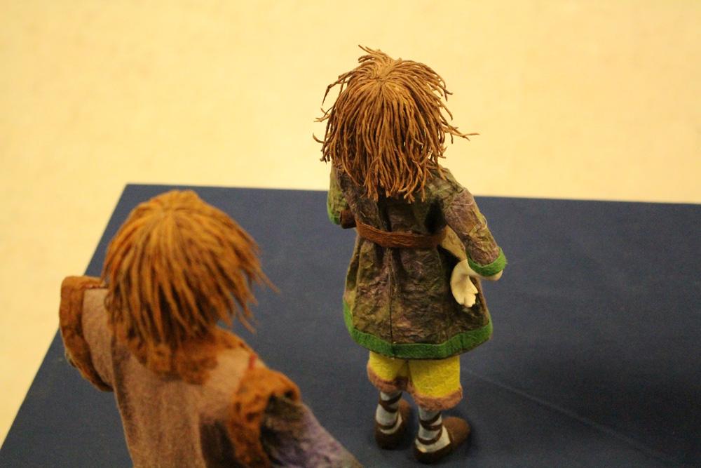 生徒作品展「ローニャと父・ビルクと父」