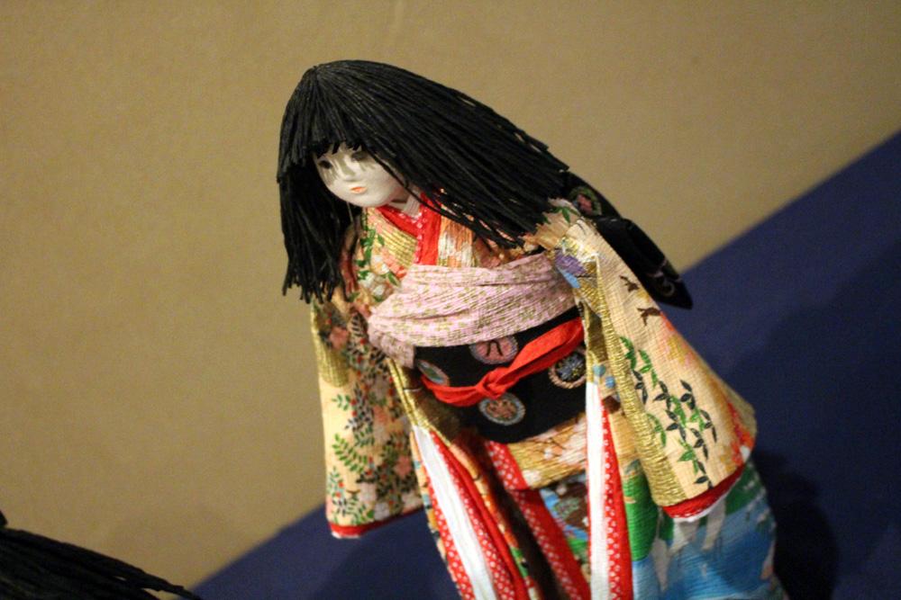 生徒作品展「市松人形」