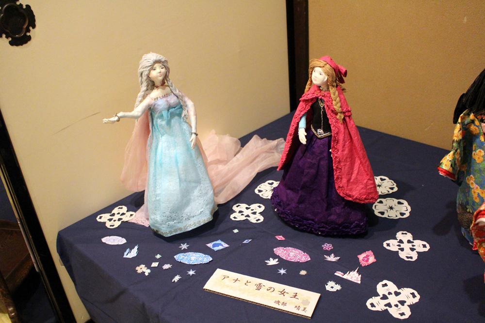 生徒作品展「アナと雪の女王」
