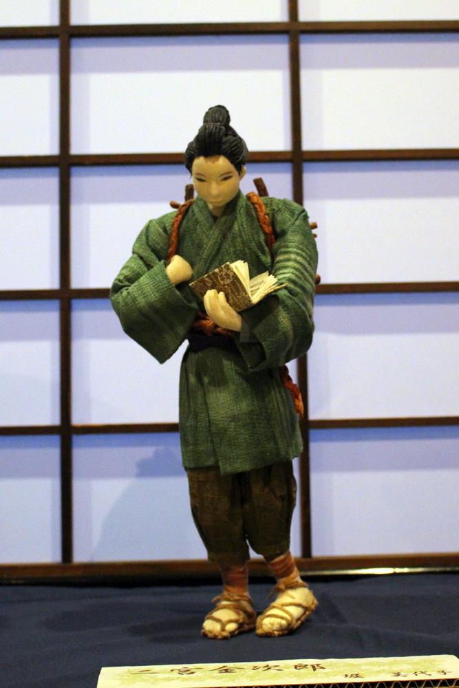 生徒作品展「二宮金次郎」